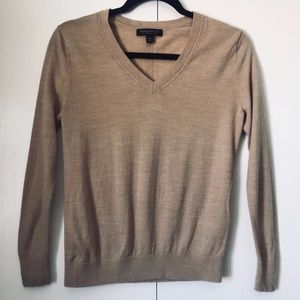 Banana Republic Merino Wool V-Neck Sweater